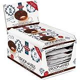 Daelman's Chocolate Caramel Stroopwafels (Box of 12 - 2 Packs - 24 Wafels Total)