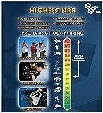 Sable & Steel Highest NRR 35db Safety Ear Muffs