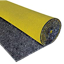 """Just Suk It Up"", Poly-Back Underlay WITH GRID, Grey, 4-oz Needle-Punch Core, 106 sq ft"