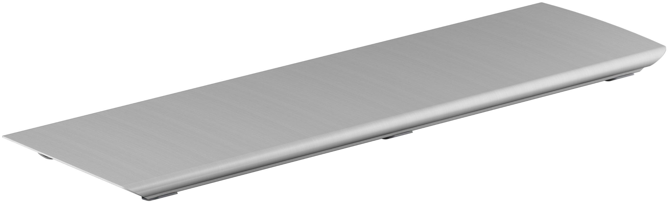 KOHLER K-9156-NX Bellwether Aluminum Drain Cover for 60-Inch x 32-Inch Shower Base, Brushed Nickel