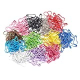 QMAY 200 Pieces Multi-Colored Bulb Pins Calabash