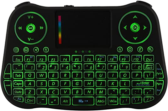 Kreema MT08 2.4G Mini teclado inalambrico Fly Air Mouse control remoto telclado numerico del panel tactil para HTPC/Android Smart TV Box/PAD/PC/PS3/XBOC360: Amazon.es: Electrónica