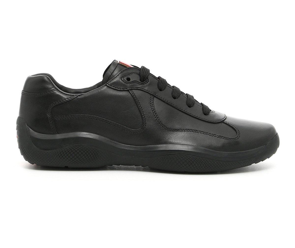 fd1e4f3961456 Galleon - Prada Men's 'America's Cup' Calf Leather Trainer Sneaker ...