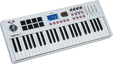 Icon Logicon 5 Air - Teclado MIDI (49 teclas, USB), color ...