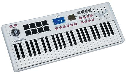 Icon Logicon 5 Air - Teclado MIDI (49 teclas, USB), color blanco
