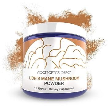 Amazon Com Lions Mane Mushroom Powder 30 Grams Hericium
