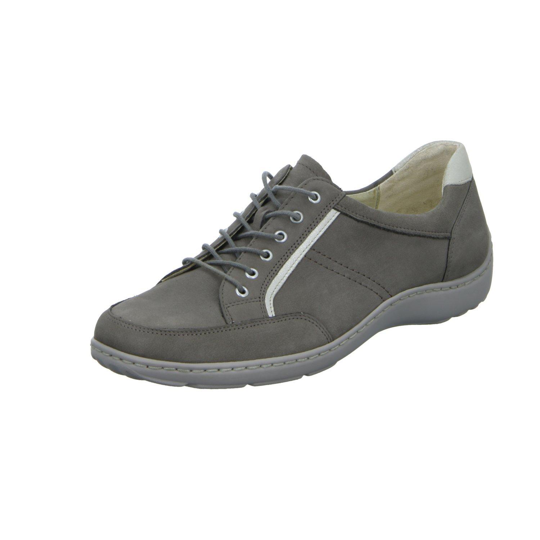 Waldläufer - Zapatos de cordones para mujer 40|Gris - gris