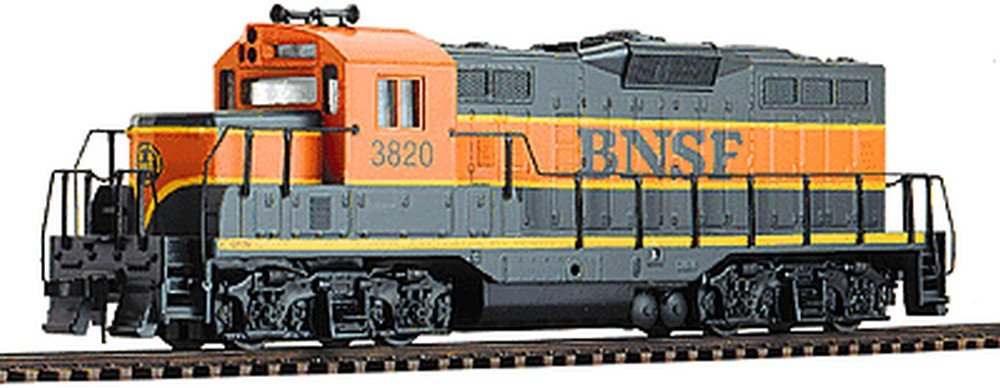 Walthers Trainline EMD HO Scale GP9M Ready to Run Burlington Northern Sante Fe #3820