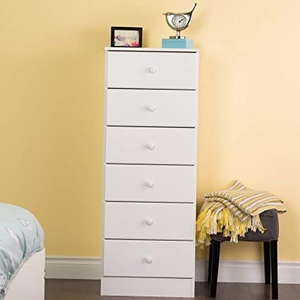 Amazon.com: Hebel Narrow Space Saver Bedroom Bath Furniture ...