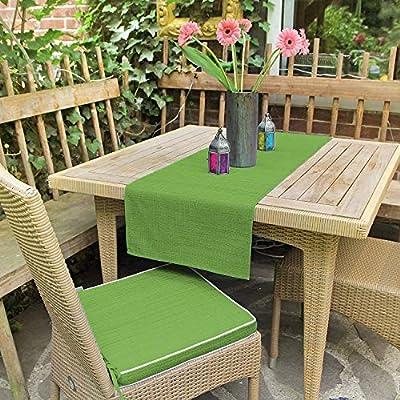 Delindo Lifestyle Cojines para sillas de exterior SAMBA verde, 2 piezas, impermeable, antimanchas, casa y jardin, 40x40 cm: Amazon.es: Hogar