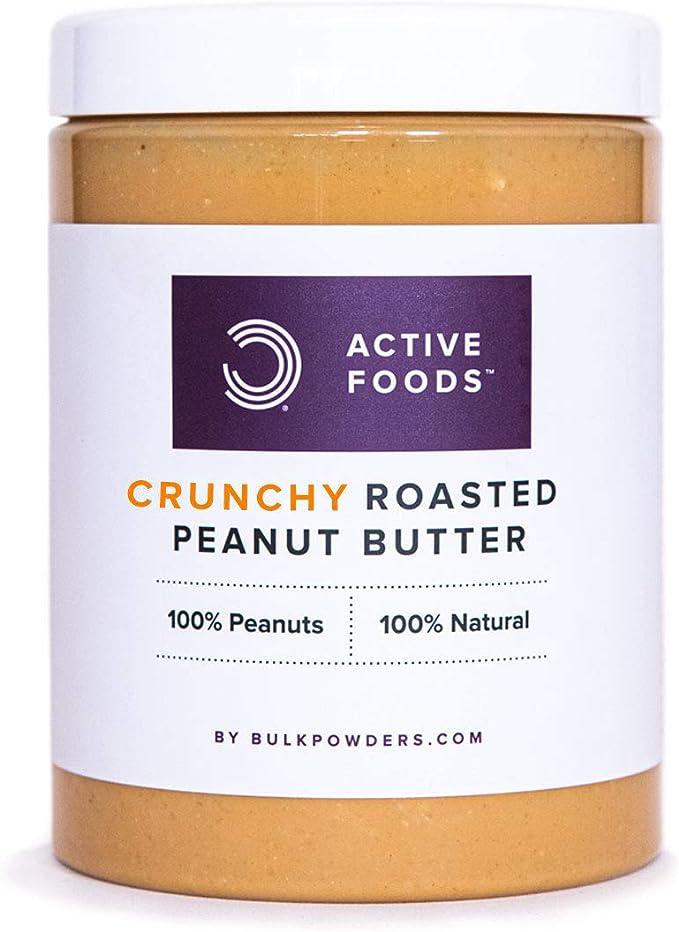 Bulkpowders mantequilla de cacahuete de 1kg - 100% natural, sin aditivos