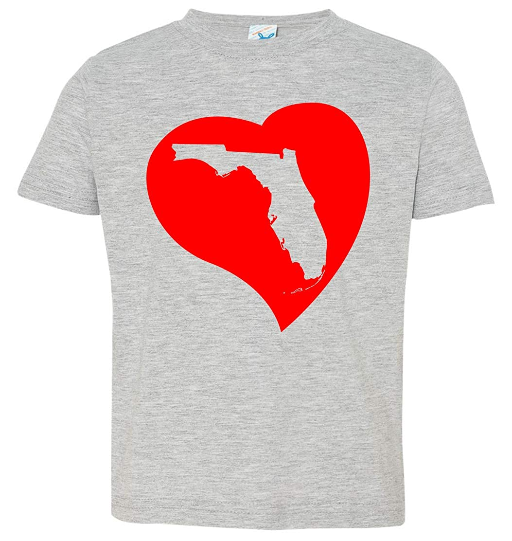 Tenacitee Babys Florida Heart Shirt