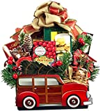 Woody Car Themed Christmas Gourmet Food Gift Basket