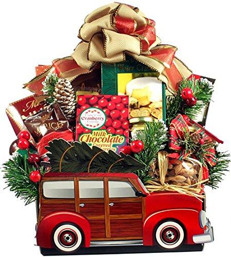 Woody Car Themed Christmas Gourmet Food Gift Basket