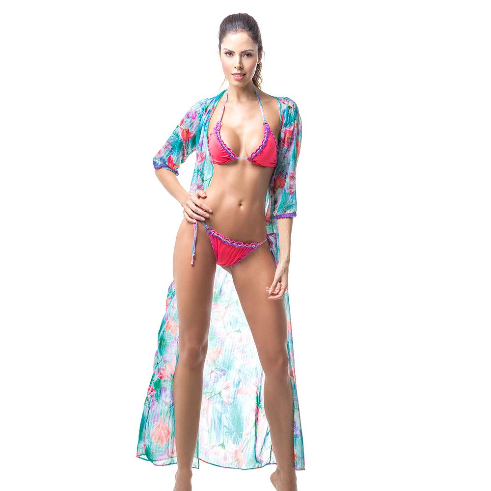 Mar De Rosas Womens Beachwear Dress Bikini Cover Up