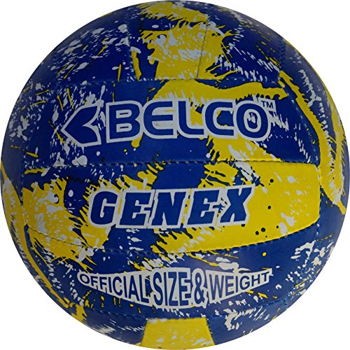 Belco Genex Volleyball Size 4 (Cedro PVC, 18 Panels)