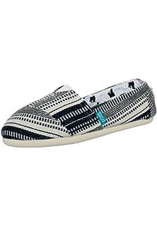 PAEZ Mens Alpargatas Canvas Alpargatas Slip-on Casual Cloth Shoes Flat Loafer Indie