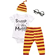 3Pcs/Set Baby Boy Girl Infant Funny Rompers (0-3 Months)