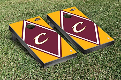 Cleveland Cavaliers NBA Basketball Cornhole Game Set Diamond Version by Victory Tailgate