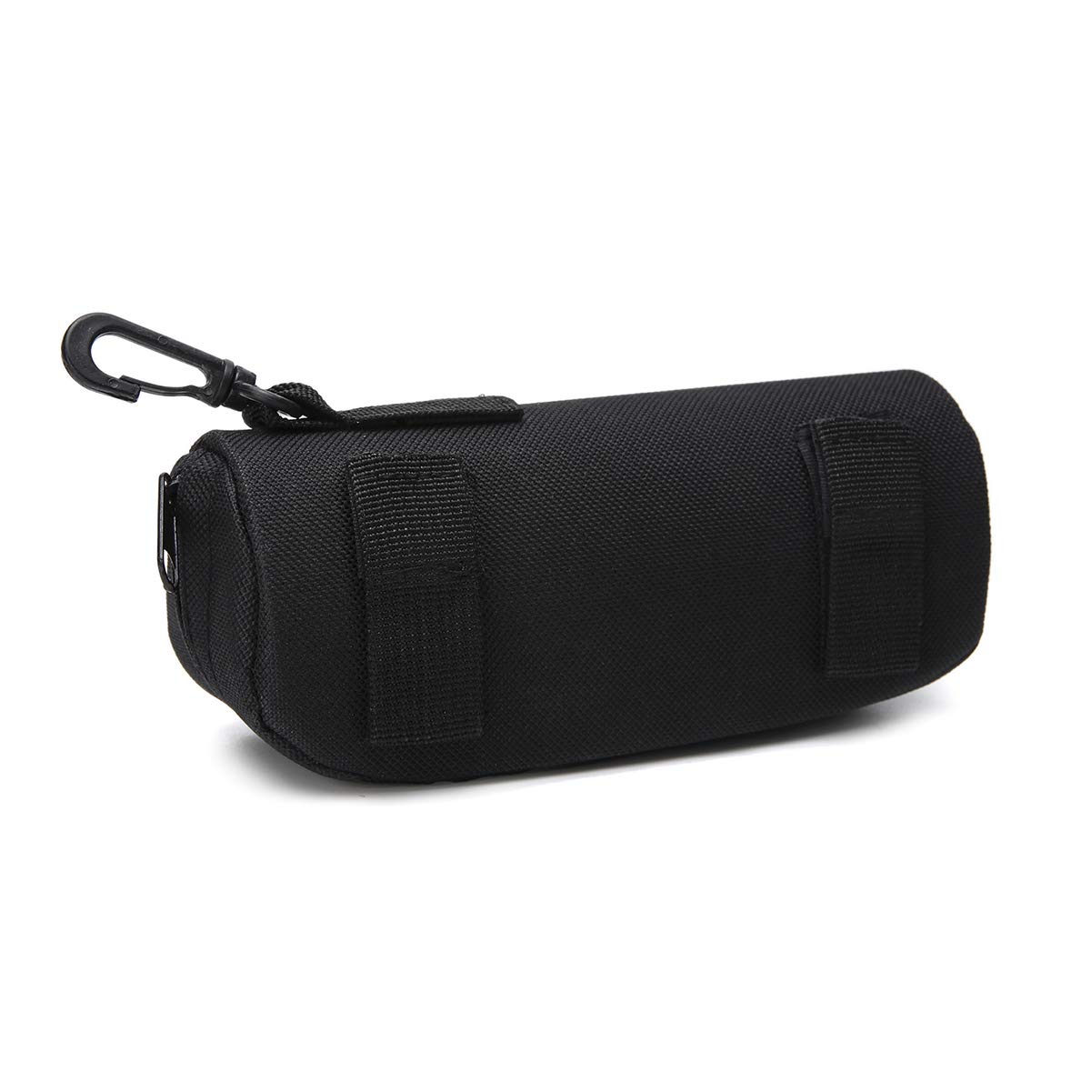 Molle Tactical SUNGLASSES Case Carrying Pouch Eyeglasses Padded Case-BLACK