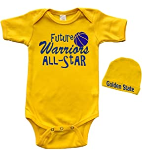 3-6, 6-12, 12-18, 18-24 Months Steph Curry Golden State Font - Golden State Basketball Baby Clothes 500 LEVEL Steph Curry Baby Clothes /& Onesie
