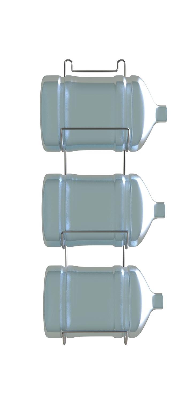 Desconocido Botellero para 3 botellones o garrafas de Agua DE 20 litros u 11 litros -Blanco: Amazon.es: Hogar