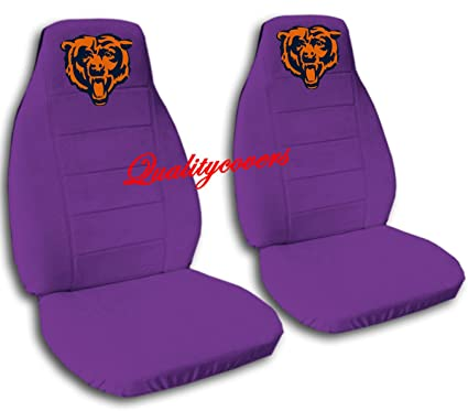 Incredible Amazon Com Purple Chicago Seat Covers 40 20 40 Seat Covers Ncnpc Chair Design For Home Ncnpcorg