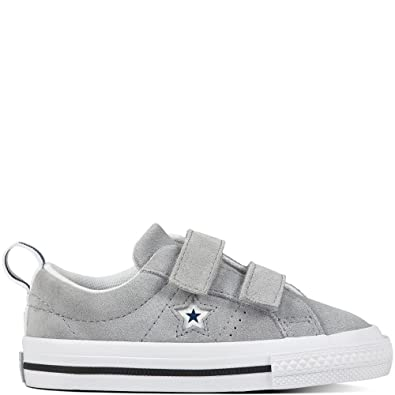 ac8caaaf6856 Converse One Star 2V Wolf Grey Suede 6 M US Infant