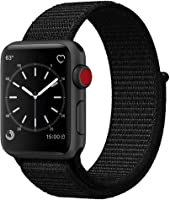 Flash Sport Loop Woven Nylon Watch Band Bracelet for Apple Watch Series 4 Series 3 Series 2 Series 1