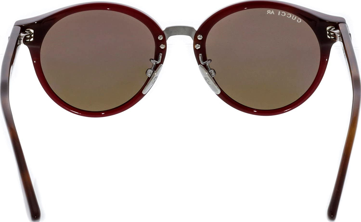 026b5242274 Amazon.com  Gucci GG 0066S 001 Havana Plastic Round Sunglasses Brown Lens   Gucci  Clothing
