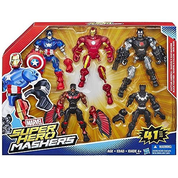 Héro Mashers B8309 Super Héro – Multi Pack: Amazon.es: Juguetes y juegos