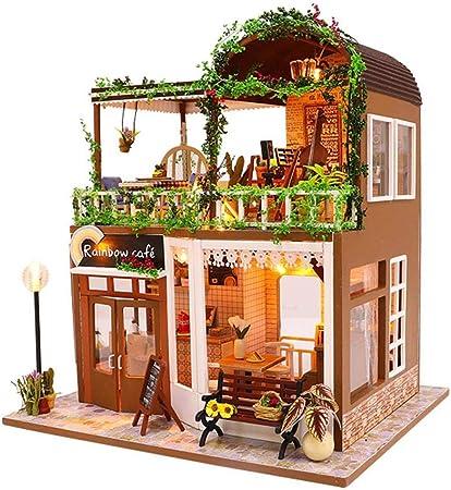Creative gift Dollhouse Miniature Modern Computer Furniture  ER