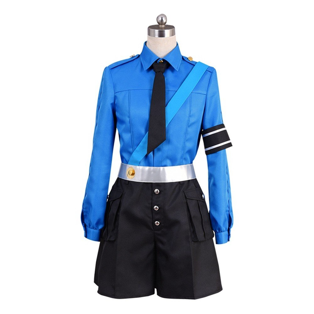 starfun Persona 5 P5 Prison Guards Twin Sisters Justine Caroline Dress Cosplay Costume Full Set