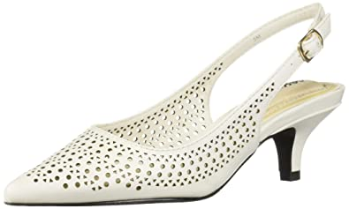 15eba8df2d7 Image Unavailable. Image not available for. Color  Easy Street Women s  Enchant Slingback Dress Pump ...