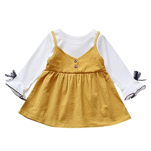 Sameno Toddler Newborn Baby Girls Boys Clothes Cute Letter Print Tops Romper Jumpsuit Outfits