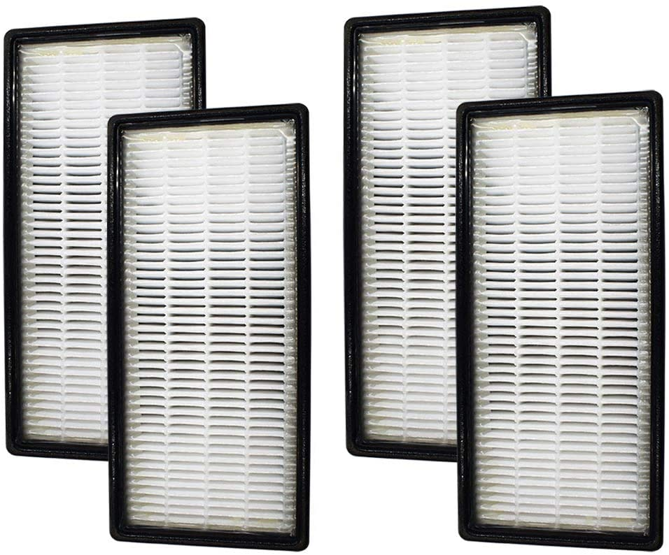 4 Pack HEPA Filter C Compatible with Honeywell Air Purifier Filter HRF-C,Fit Models:16216,HHT-011,HHT-013,HHT-080,HHT-081,HHT-085,HHT-090,HHT-145,HHT-149