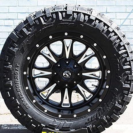 amazon com wheel tire package 18x9 fuel throttle d513 wheels
