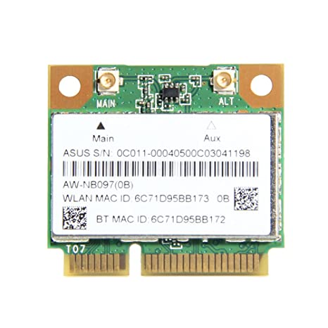 Atheros AR5B225 - WIFI, Bluetooth 4,0, tarjeta media MINI PCI-E