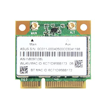 Atheros AR5B225 WIFI Wireless Bluetooth 4.0 Half MINI PCI-E Card 300 Mbps 802.11 b/g/n BT 4.0 HS