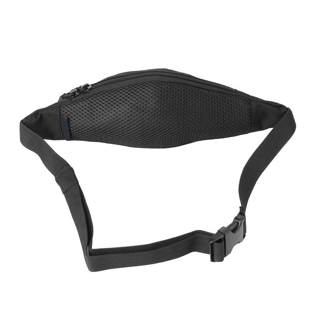 Black Alloet Unisex Running Tactical Waist Pack Fanny Pack Phone Bag