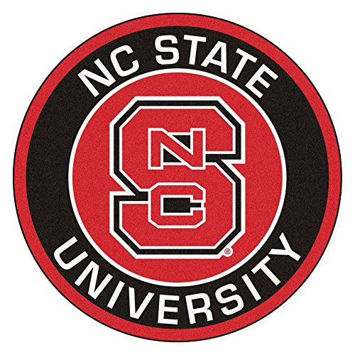 (FANMATS 18625 North Carolina State University Roundel Mat)
