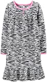 Carter's Little Girls' Fleece Nightgown (Toddler/Kid) - Zebra