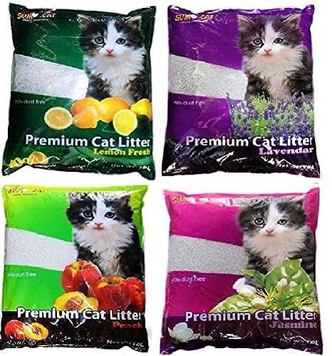 Sumo gato Aroma Bolsa de basura 10l agrupamiento respetuoso con el medio ambiente Biodegradable Bio 7,2 kg: Amazon.es: Productos para mascotas