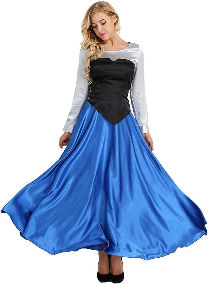 iiniim 3Pcs Disfraces Mujer de Princesa Fiesta Disfraz de ...