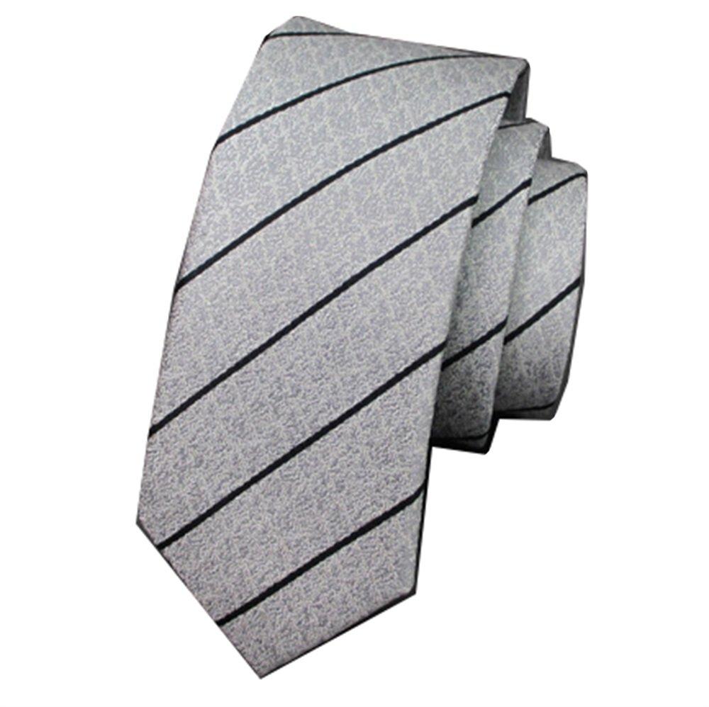 Fgregt - Corbata para Hombre, diseño de Rayas, Color Blanco y ...