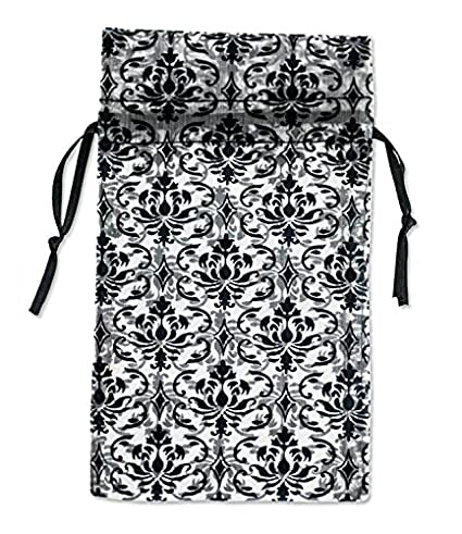 Amazon.com: Bolsa de organza pequeño), color blanco con ...