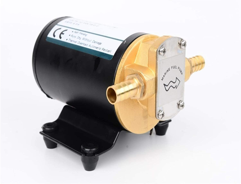 Bomba Bomba de aceite del engranaje de gran flujo DC 12V 24V 14L / min autocebante de la bomba diesel for el aceite lubricante del aceite del motor (Voltage : 24V)