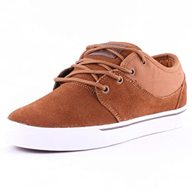 Globe Mahalo Mens Suede Skate Trainers Toffee - 8 UK
