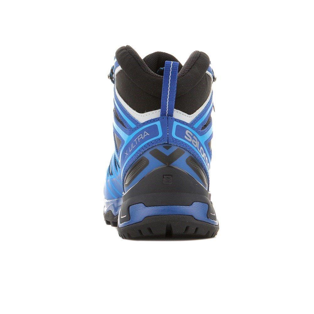 Salomon Mens X Ultra Mid 3 Gtx Trail Sneaker,Navy Blazer/Indigo Bunting/Pearl Blue, 10.5 D(M) US by Salomon (Image #3)