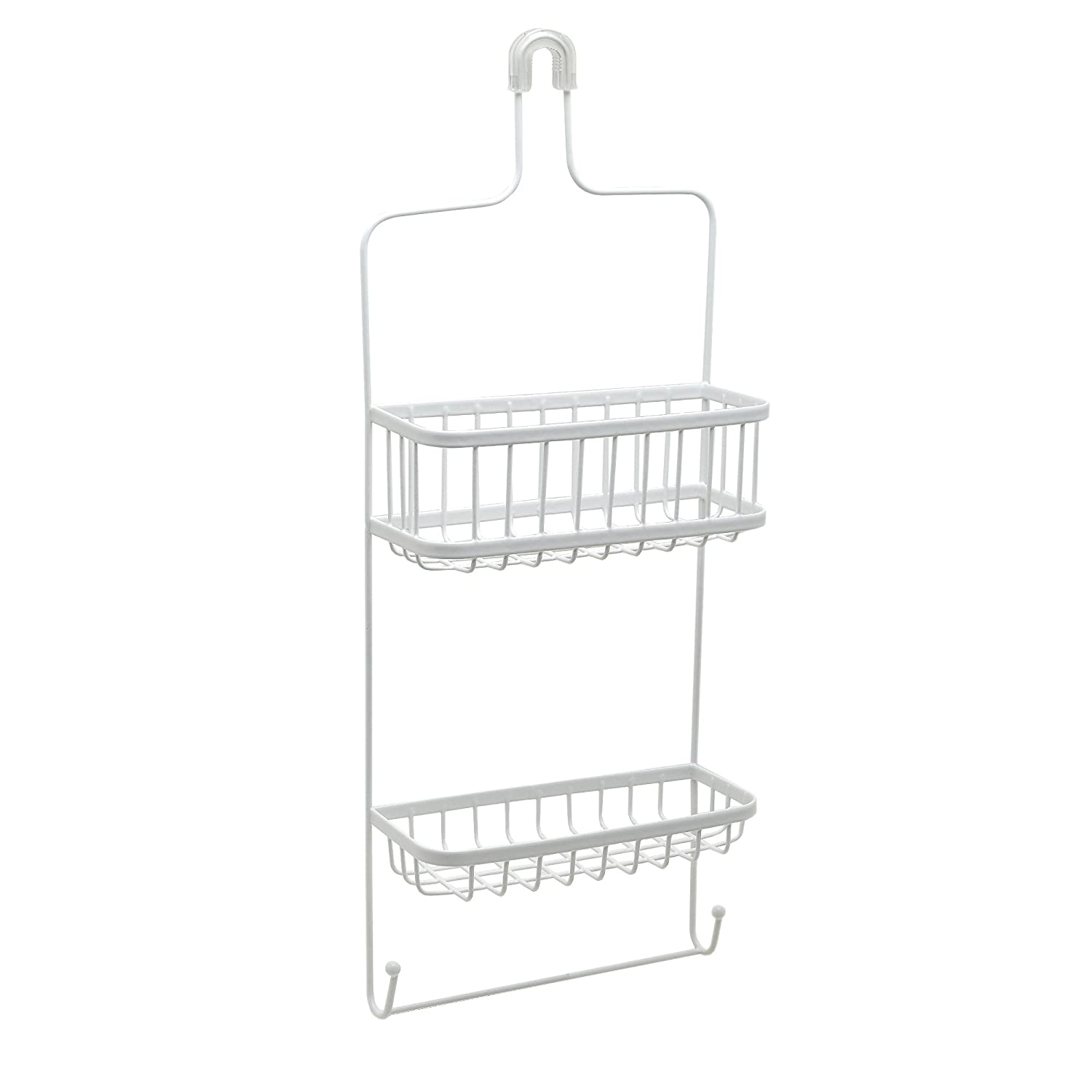 Zenith Premium Shower Head Caddy, White ZENITH PRODUCTS 7617WW